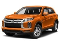 2021 Mitsubishi RVR SE Sunshine Orange  Shot 4