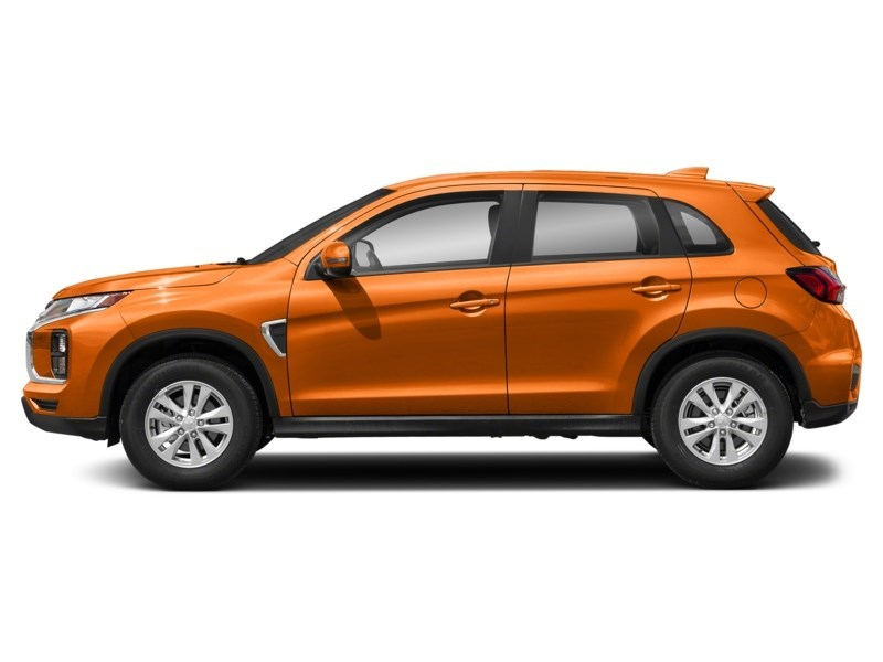 2021 Mitsubishi RVR SE Sunshine Orange  Shot 3