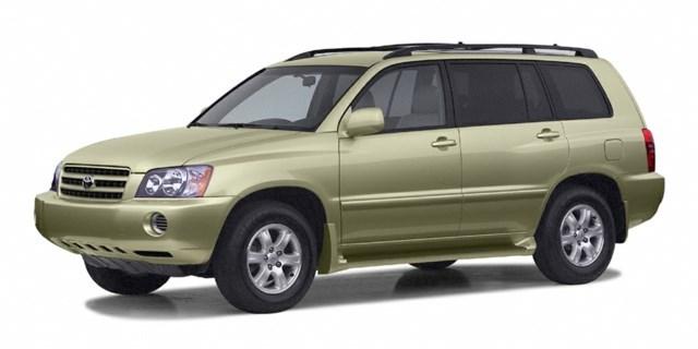 2003 Toyota Highlander Vintage Gold